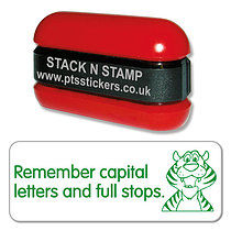 Remember Capital Letters and Full Stops Stack & Stamp
