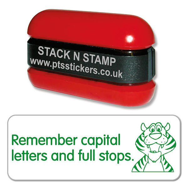 Capital Letters And Full Stops Stamper