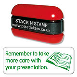 Take More Care With Your Presentation Stack & Stamp