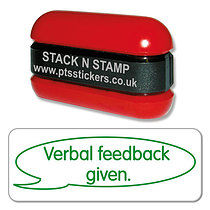 Verbal Feedback Given Green Stack & Stamp