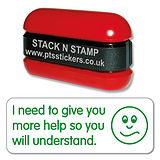 I Need to Give You More Help Stack & Stamp