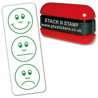 3 Expressions Assessment Stack & Stamp