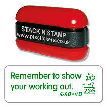 Remember to Show Your Working Out Stack & Stamp