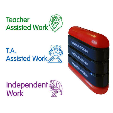 Teacher T.A. Independent work 3-in-1 Stack & Stamp