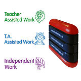 3-in-1 Assisted/Independent Work Stamper - Stack N Stamp