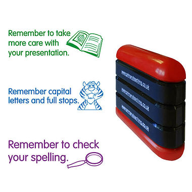 Presentation Capital Letters Spelling 3-in-1 Stack & Stamp