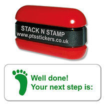 Well Done! Your next step is: Green Stack & Stamp