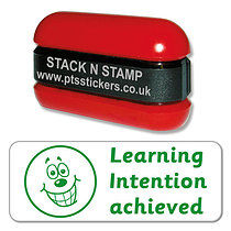 Learning Intention Achieved Stack & Stamp