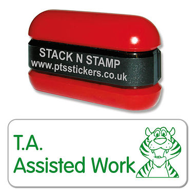 T.A. Assisted Work Tiger Stack & Stamp