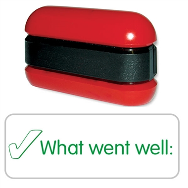 What Went Well Tick Stamper - Stack N Stamp