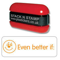 Even Better if Smile Stack & Stamp