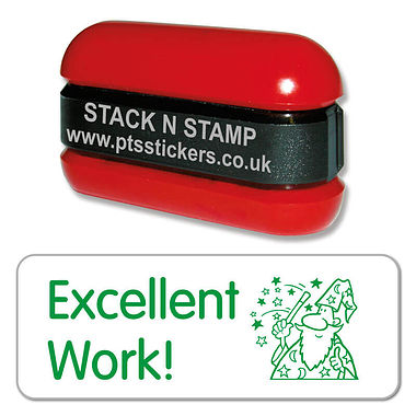 Excellent Work Wizard Stack & Stamp