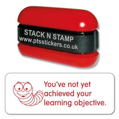 You've not yet achieved your learning objective Stack &Stamp