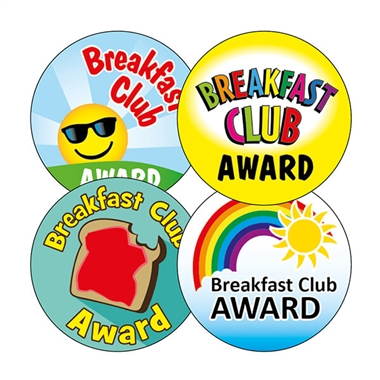 Breakfast Club Stickers (20 Stickers - 32mm)