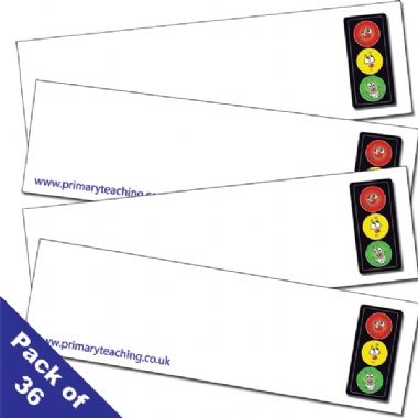 Traffic Light Behaviour Management Scheme Class Set Blue Holder