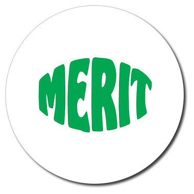Personalised Merit Stamper - Green (25mm)