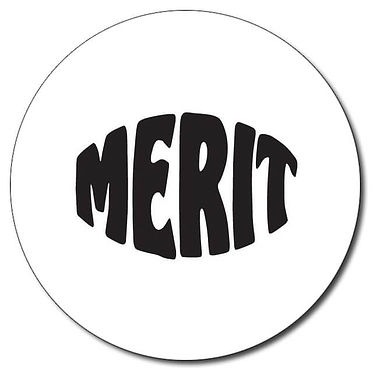 Personalised Merit Stamper - Black (25mm)