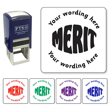 Customised Merit Stamper (25mm)