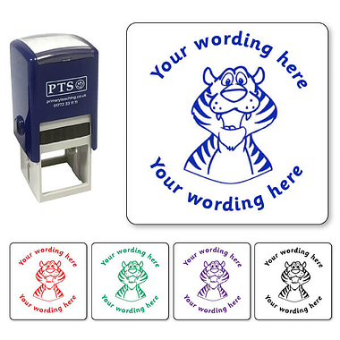 Personalised Tiger Stamper (25mm)