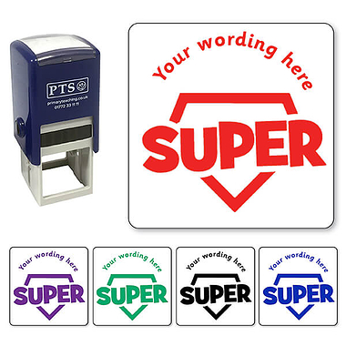Personalised Super! Stamper (25mm)