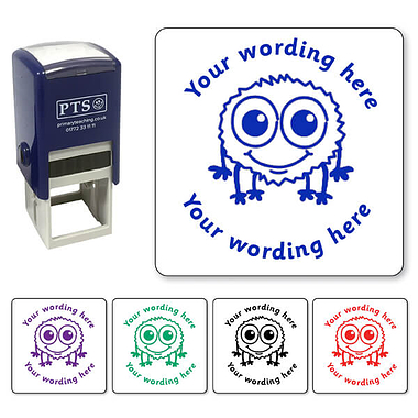 Personalised Monster Bug Stamper (25mm)