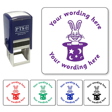 Personalised Rabbit Stamper (38mm)