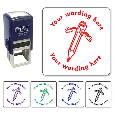 Personalised Pencil Stamper (25mm)