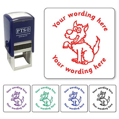 Customised Dog Stamper (25mm)