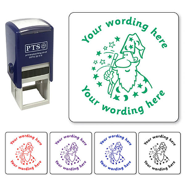 Personalised Wizard Stamper (25mm)