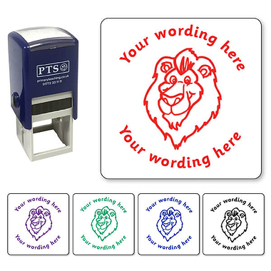 Personalised Lion Stamper (25mm)