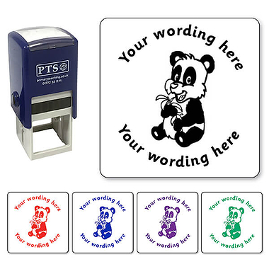 Personalised Panda Stamper (25mm)