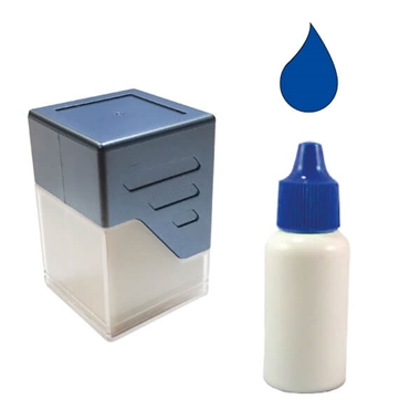 10ml Blue Ink Refill for Personalised Stampers