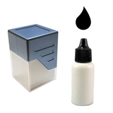 Ink Refill for Customised Stampers - Black (10ml)