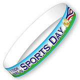 Sports Day Wristbands - I Took Part (10 Wristbands - 230mm x 18mm)