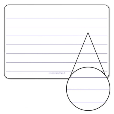 Lined Mini Whiteboards (A4 - Pack of 30)