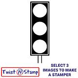 Traffic Light Image Twist & Stamp Brick Stamper