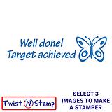 Target Achieved Twist & Stamp Brick Stamper