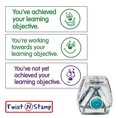 3 In 1 Learning Objectives - Twist n Stamp