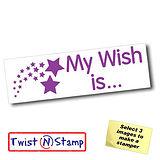 My Wish Is' Twist & Stamp Brick Stamper