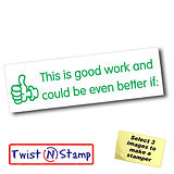 Good Work Could Be Better if Twist & Stamp Brick Stamper