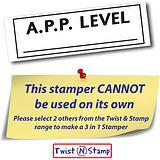 A.P.P. Level Twist & Stamp Brick Stamper