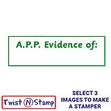 A.P.P. Evidence of: Twist & Stamp Brick Stamper