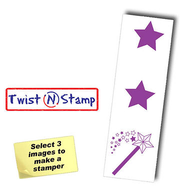 2 Stars and a Wish Twist & Stamp Brick Stamper