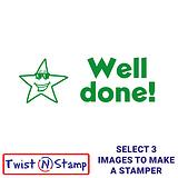 Star Well Done Twist & Stamp Brick Stamper