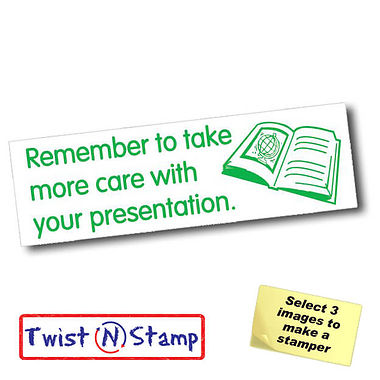 Take More Care With Presentation Twist & Stamp Brick Stamper