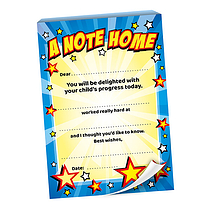 A Note Home - Stars (60 Pages - A6)