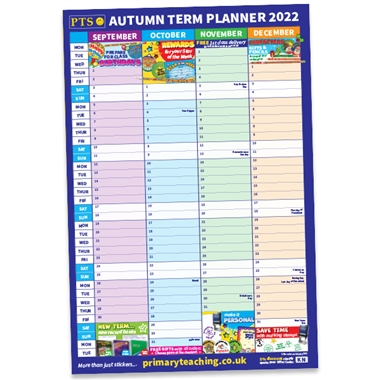 A2 Autumn Term Academic Planner (A2 Poster)
