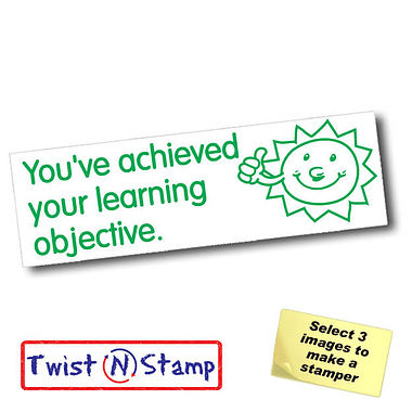 Achieved Learning Objective Sun Stamper - Twist N Stamp