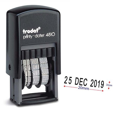 Adjustable Date Stamper (20mm)