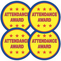 Attendance Award Stickers (35 Stickers - 37mm)